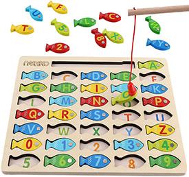 Alphabet Fishing Game