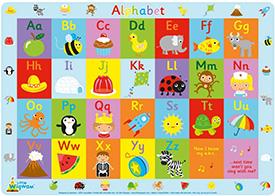 Alphabet placemat