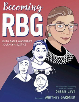 Becoming RBG graphic novel