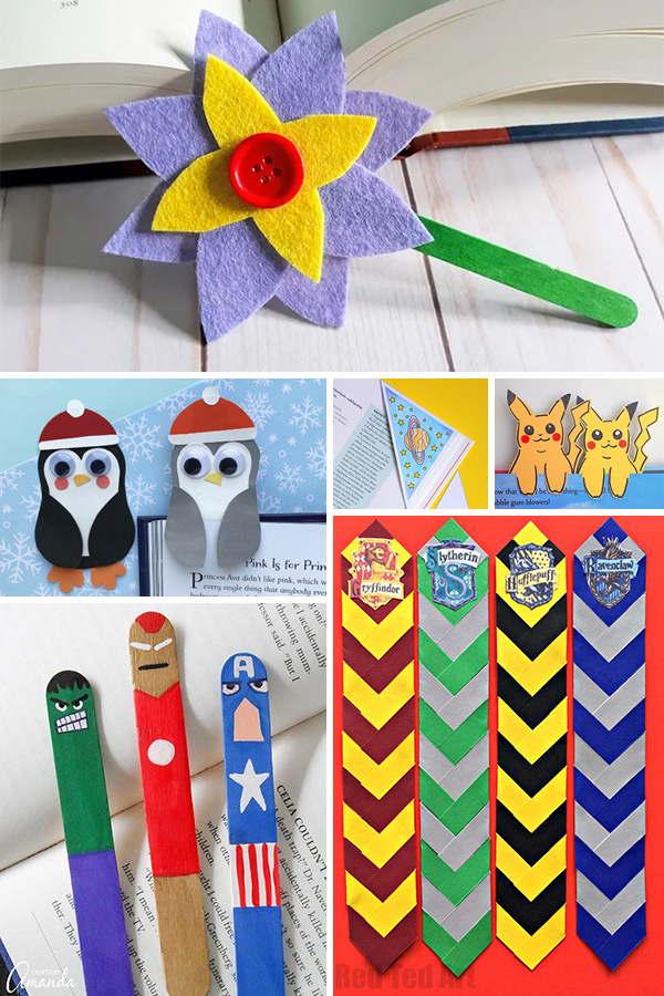 Bookmark crafts for tweens