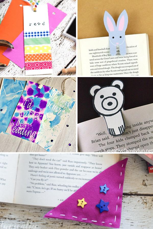 Bookmark crafts for tweens and teens