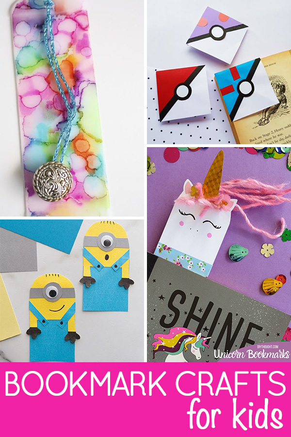 Cool bookmark crafts for kids