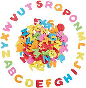 Foam Alphabet Stickers