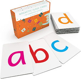 Magnetic flashcards