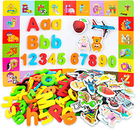 Matching Alphabet Magnet Game