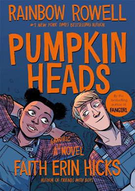 Pumpkinheads graphic novels with strong girl characters