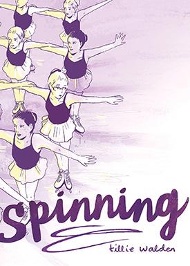 Spinning graphic novels for girls