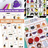 Free printable Halloween games for kids