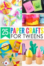 25+ Paper Crafts for Tweens